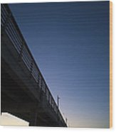 Port Aransas Fishing Pier Wood Print