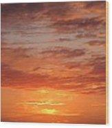 Port Henderson Sunset 2 Wood Print