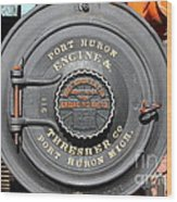 Port Huron Engine And Thresher Company . Steam Train Locomotive Engine 8613 . 7d12906 Wood Print