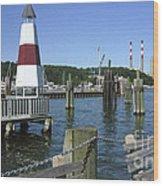 Port Jefferson Harbor Wood Print