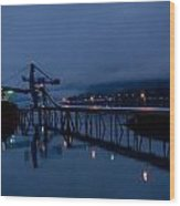 Port Of Seward - Alaska Wood Print