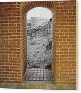 Portal To The Past Wood Print