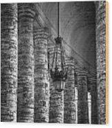 Portico Wood Print by Joana Kruse
