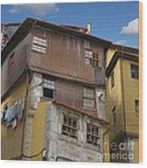 Porto By Day Wood Print