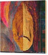 Portrait Of A Man 2 Wood Print