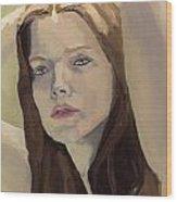 Portrait Of Ashley Wood Print