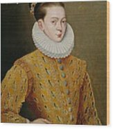 Portrait Of James I Of England And James Vi Of Scotland  Wood Print