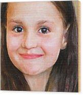 Portrait Of Lida Wood Print