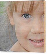 Portrait Of Megan Wood Print
