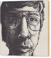 Portrait Of Michael G Wood Print by Canis Canon