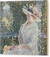 Portrait Of Miss Weir Wood Print