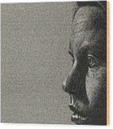 Portrait Of S Wood Print