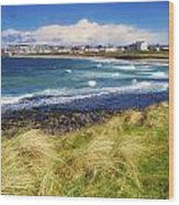 Portrush, Co Antrim, Ireland Seaside Wood Print