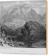 Portugal: Cintra, 1832 Wood Print