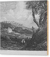 Portugal: Monastery, 1832 Wood Print