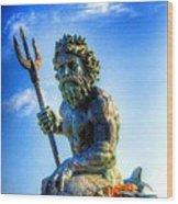 Poseidon Wood Print by Dan Stone