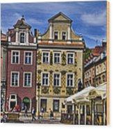 Posnan Shops - Poland Wood Print