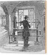 Post Office, 1856 Wood Print