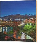 Post St Bridge Wood Print