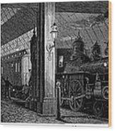 Postal Service, 1875 Wood Print