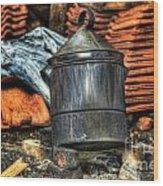 Pot Wood Print