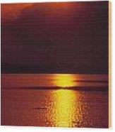 Potomac Sunrise Washington Dc Wood Print
