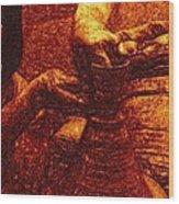 Potter In Rembrandt Oil Wood Print