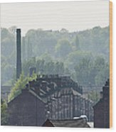 Potteries Urban Landscape Wood Print