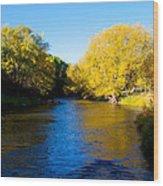Poudre River Wood Print