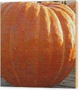 Pounds Of Pumpkin  Fun Wood Print