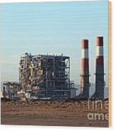 Power Station Wood Print