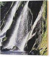 Powerscourt Waterfall, Co Wicklow Wood Print