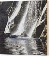 Powerscourt Waterfall, Powerscourt Wood Print