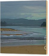 Powlett River Inlet On A Stormy Morning Wood Print