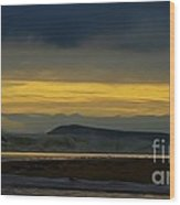 Powlett River On A Stormy Morning Wood Print