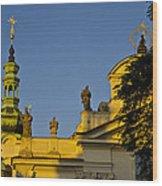 Prague - Strahov Monastery Wood Print