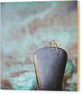 Praying For Water 2 Wood Print by Andee Design