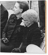 President Harry Trumans Funeral. Bess Wood Print