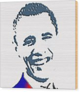 president of the United States Wood Print