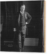 President Theodore Roosevelt - Portrait Wood Print