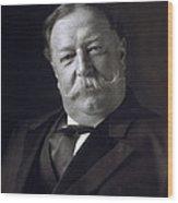 President William Howard Taft Wood Print
