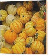 Pretty As A Pumpkin Wood Print