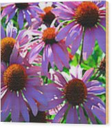 Pretty Flowers Wood Print