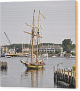 Pride Of Baltimore II Pb2p Wood Print