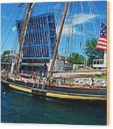 Pride Of Baltimore No. 3 Wood Print