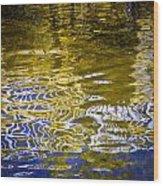 Priest Lake Reflections Wood Print