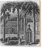 Prince Demetrius Augustine Gallitzin (1770-1840) Wood Print