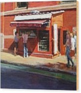 Prince Street Coffee Wood Print