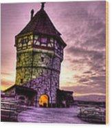 Princes Tower Wood Print
