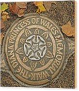 Princess Of Wales Wood Print